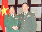 Vietnamese Defence Minister meets Chinese counterpart