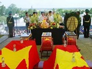 Vietnamese martyrs' remains in Laos returned home