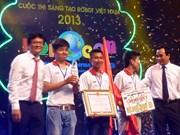 Lac Hong wins big at Robocon Vietnam 2013
