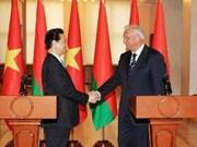 Vietnam, Belarus sign joint communiqué