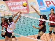 Int'l women's volleyball tournament opens in Bac Ninh