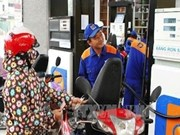 Gasoline import tax cut to 18 percent