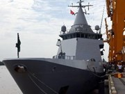 French patrol ship visits Vietnam