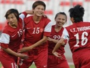 Vietnam enters women's Asian Cup finals