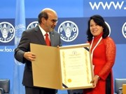 Vietnam wins plaudits for hunger reduction efforts