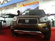 AutoExpo 2013 kicks off in Hanoi