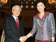 Party leader's visit hits Thailand headlines