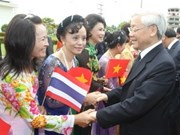 Party chief wraps up Thailand visit