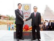 Vietnam, Laos complete last borber marker planting