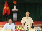 Party leader urges Hai Phong's district to tap potentials
