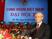Vietnam's trade union holds 11th congress