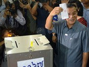 Cambodia's ruling Party wins general elections