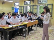 School English teachers helped better skills