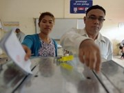 Cambodia opposition parties call for election investigation