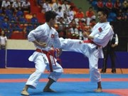 National karate tournament opens in Can Tho