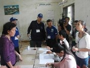 Cambodia invites observers to inspect poll result verification