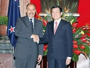 VN, NZ talk ways to advance partnership