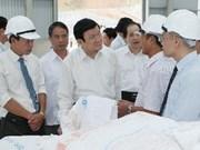 President lauds Bac Kan's living standard improvement