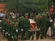 Remains of soldiers repatriated from Cambodia