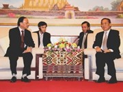 Party Organisation Commission visits Laos