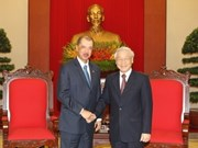 Party chief welcomes Seychelles President
