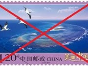 China's stamps violate Vietnam's Hoang Sa island sovereignty