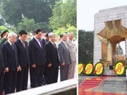 Leaders pay tribute to Uncle Ho on National Day