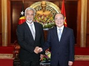 Vietnam wants closer legislative link with Timor Leste