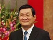 President Truong Tan Sang to visit Hungary, Denmark