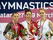 Vietnamese gymnast ranks third at Grand Prix