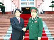 Japanese Defence Minister concludes visit to Vietnam
