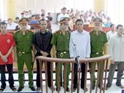 Four convicted of fleeing abroad