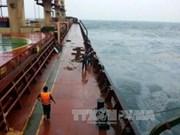 Marine police reach drifting Panamanian cargo vessel
