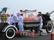Int'l media spotlight General Giap's funeral