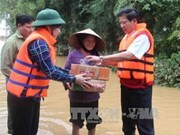 Disaster-hit victims continue to receive aid