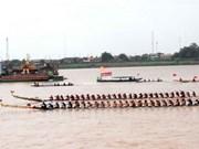 Boat race opens Laos' festival season