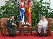 Defence delegation visits Cuba to strengthen ties