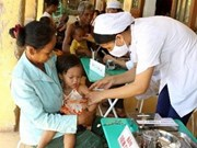 Children continue to be vaccinated with Quinvaxem