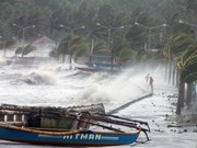 Super-typhoon Haiyan hits Philippines, kills one