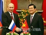 Vietnamese, Russian Presidents hold talks