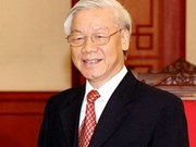 Indian media spotlights Vietnamese Party leader's visit