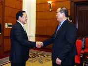 VFF Chairman receives Chinese official