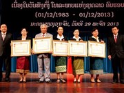 Laos celebrates 30 years of national television