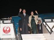 Prime Minister Nguyen Tan Dung arrives in Japan