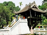 One-Pillar Pagoda to be upgraded