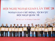 Diplomatic conference concludes in Hanoi