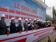 Work starts on Ho Chi Minh Highway section