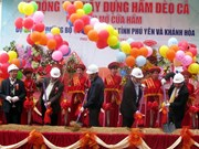 Construction of tunnel on National Highway begins