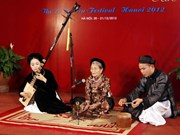 Hanoi Ca tru club helps preserve traditional music