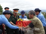 Remains of the fallen returned to central province